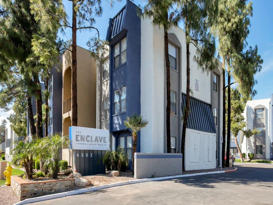 Enclave multifamily property